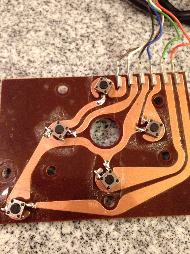 Atari VCS 2600 Joystick Micro Switch Mod  - Press Start to Stop