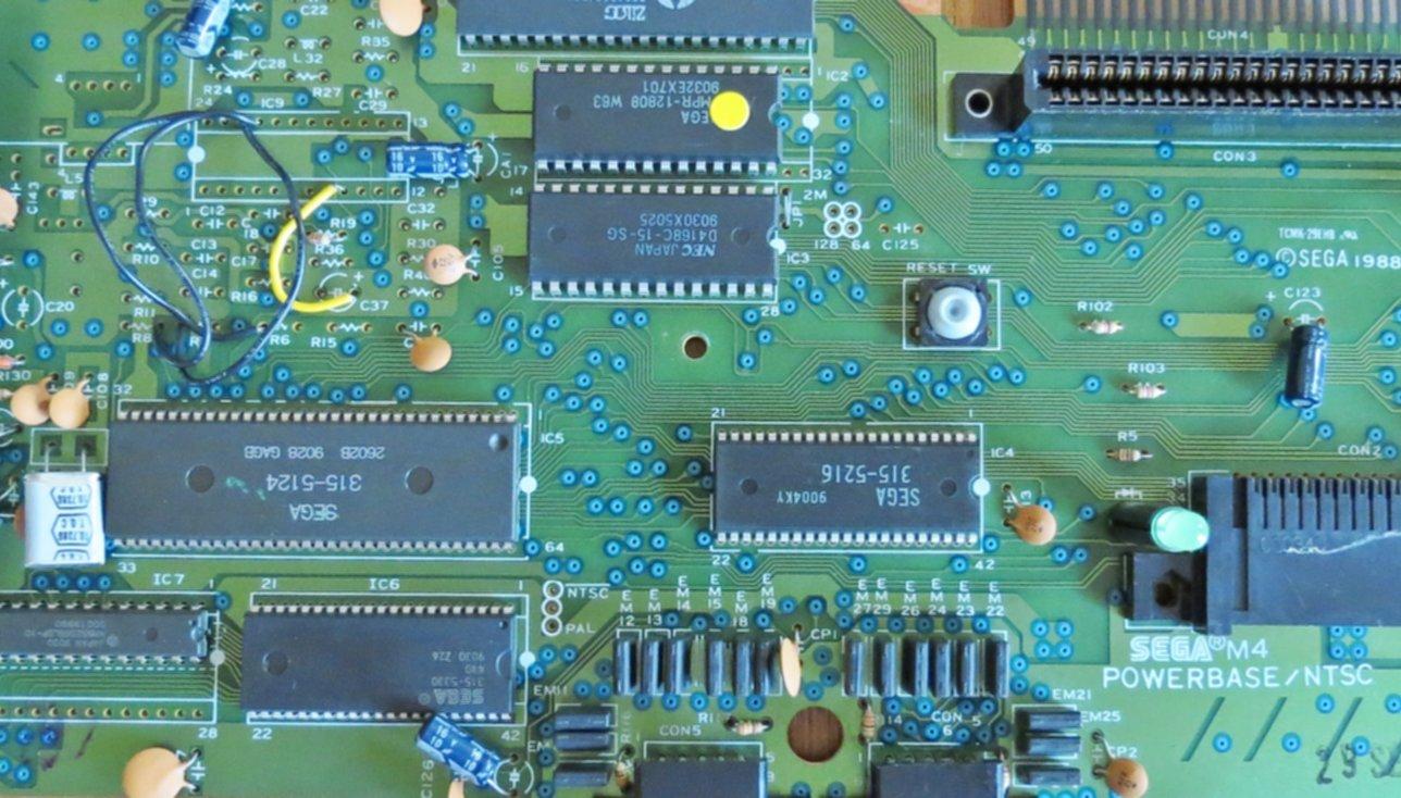 Master System 50/60 Hz Mod (w  Switch) - Press Start to Stop